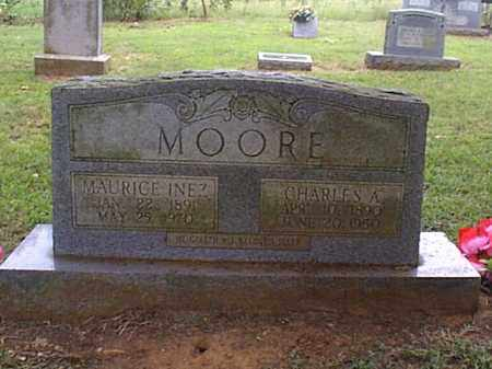 MOORE, CHARLES A. - Independence County, Arkansas | CHARLES A. MOORE - Arkansas Gravestone Photos
