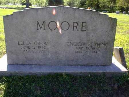 MOORE, ENOCH RUSHING - Independence County, Arkansas | ENOCH RUSHING MOORE - Arkansas Gravestone Photos