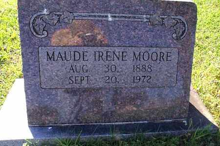 MOORE, MAUDE IRENE - Independence County, Arkansas | MAUDE IRENE MOORE - Arkansas Gravestone Photos