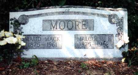 MACK MOORE, MAUD MARVIN - Independence County, Arkansas | MAUD MARVIN MACK MOORE - Arkansas Gravestone Photos