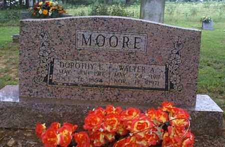 BRIDGEMAN MOORE, DOROTHY L. - Independence County, Arkansas | DOROTHY L. BRIDGEMAN MOORE - Arkansas Gravestone Photos