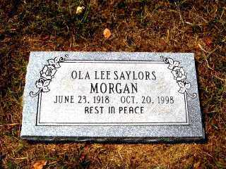 MORGAN, OLA LEE - Independence County, Arkansas | OLA LEE MORGAN - Arkansas Gravestone Photos