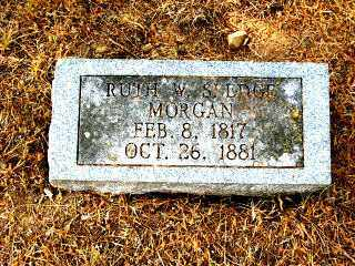 MORGAN, RUTH W. - Independence County, Arkansas | RUTH W. MORGAN - Arkansas Gravestone Photos
