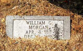 MORGAN, WILLIAM GOODE JR. - Independence County, Arkansas | WILLIAM GOODE JR. MORGAN - Arkansas Gravestone Photos