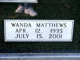 MATTHEWS MORROW, WANDA - Independence County, Arkansas | WANDA MATTHEWS MORROW - Arkansas Gravestone Photos
