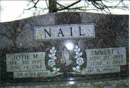 NAIL, EMMETT L. - Independence County, Arkansas | EMMETT L. NAIL - Arkansas Gravestone Photos