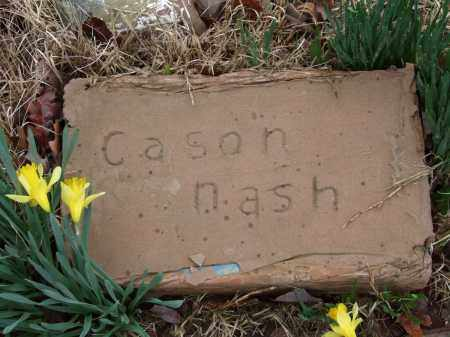 NASH, CASON - Independence County, Arkansas | CASON NASH - Arkansas Gravestone Photos