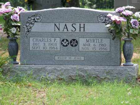 ELROD NASH, MYRTLE - Independence County, Arkansas | MYRTLE ELROD NASH - Arkansas Gravestone Photos