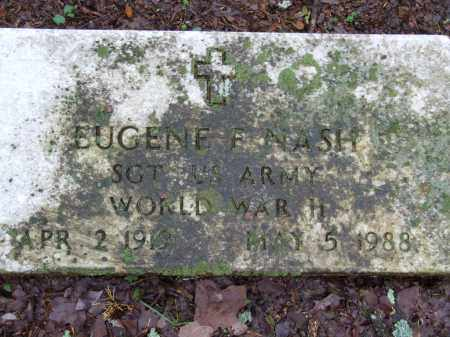 NASH (VETERAN WWII), EUGENE FRANKLIN - Independence County, Arkansas   EUGENE FRANKLIN NASH (VETERAN WWII) - Arkansas Gravestone Photos