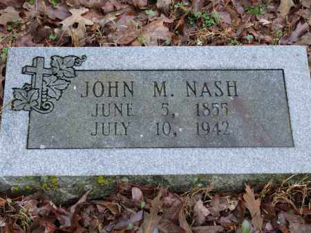 NASH, JOHN M. - Independence County, Arkansas | JOHN M. NASH - Arkansas Gravestone Photos