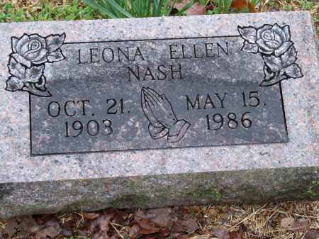 NASH, LEONA ELLEN - Independence County, Arkansas | LEONA ELLEN NASH - Arkansas Gravestone Photos