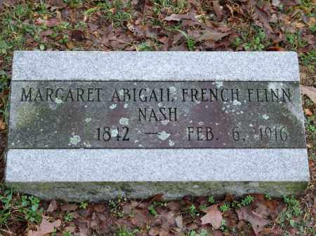 FRENCH NASH, MARGARET ABIGAIL - Independence County, Arkansas | MARGARET ABIGAIL FRENCH NASH - Arkansas Gravestone Photos