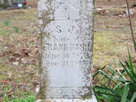 NASH, SARAH JANE - Independence County, Arkansas | SARAH JANE NASH - Arkansas Gravestone Photos