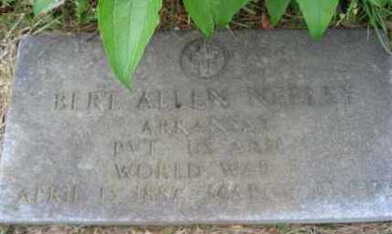 NEELEY  (VETERAN WWI), BERT ALLEN - Independence County, Arkansas | BERT ALLEN NEELEY  (VETERAN WWI) - Arkansas Gravestone Photos