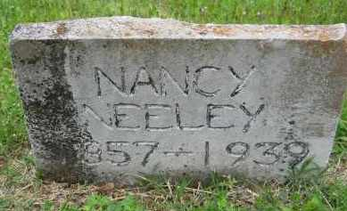 "CRISWELL NEELEY, NANCY ELIZABETH ""SIS"" - Independence County, Arkansas 