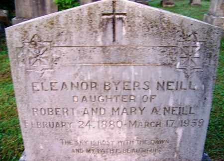 NEILL, ELEANOR BYERS - Independence County, Arkansas | ELEANOR BYERS NEILL - Arkansas Gravestone Photos