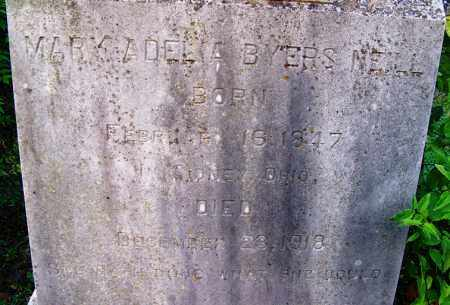 BYERS NEILL, MARY ADELIA - Independence County, Arkansas | MARY ADELIA BYERS NEILL - Arkansas Gravestone Photos