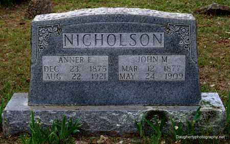 NICHOLSON, JOHN - Independence County, Arkansas | JOHN NICHOLSON - Arkansas Gravestone Photos