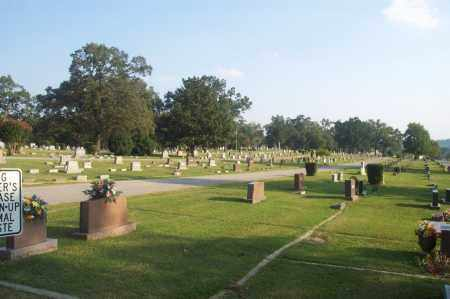 *OAKLAWN CEMETERY OVERVIEW,  - Independence County, Arkansas |  *OAKLAWN CEMETERY OVERVIEW - Arkansas Gravestone Photos