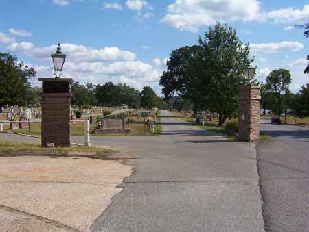 *OAK LAWN ENTRANCE,  - Independence County, Arkansas |  *OAK LAWN ENTRANCE - Arkansas Gravestone Photos