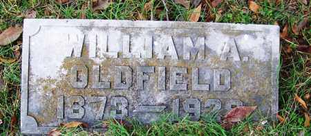 OLDFIELD, WILLIAM ALLAN - Independence County, Arkansas | WILLIAM ALLAN OLDFIELD - Arkansas Gravestone Photos