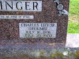 "OTTINGER, CHARLES LEO ""DRUMMER"" SR. - Independence County, Arkansas | CHARLES LEO ""DRUMMER"" SR. OTTINGER - Arkansas Gravestone Photos"