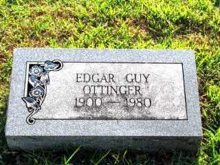 OTTINGER, EDGAR GUY - Independence County, Arkansas | EDGAR GUY OTTINGER - Arkansas Gravestone Photos