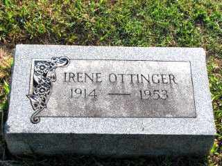 OTTINGER, IRENE - Independence County, Arkansas | IRENE OTTINGER - Arkansas Gravestone Photos