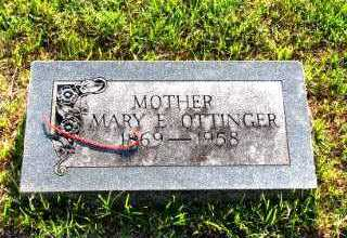 VAN EMBURG OTTINGER, MARY ELLEN - Independence County, Arkansas | MARY ELLEN VAN EMBURG OTTINGER - Arkansas Gravestone Photos