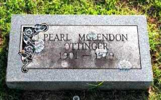 OTTINGER, PEARL - Independence County, Arkansas | PEARL OTTINGER - Arkansas Gravestone Photos