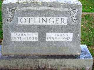 OTTINGER, J. FRANK - Independence County, Arkansas | J. FRANK OTTINGER - Arkansas Gravestone Photos