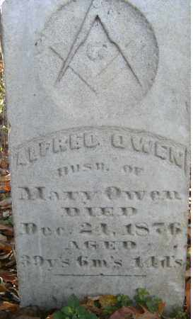 OWEN, ALFRED - Independence County, Arkansas | ALFRED OWEN - Arkansas Gravestone Photos