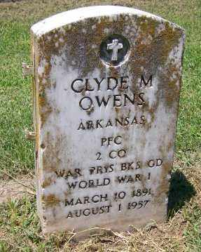 OWENS  (VETERAN WWI), CLYDE M. - Independence County, Arkansas | CLYDE M. OWENS  (VETERAN WWI) - Arkansas Gravestone Photos