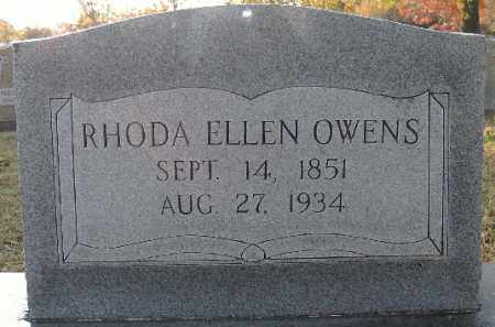 OWENS, RHODA ELLEN - Independence County, Arkansas | RHODA ELLEN OWENS - Arkansas Gravestone Photos