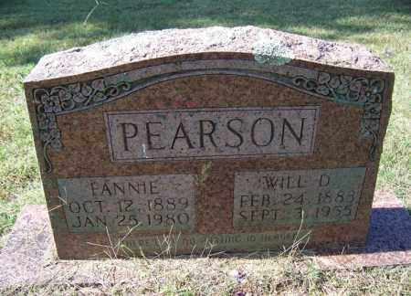 PEARSON, WILL D - Independence County, Arkansas | WILL D PEARSON - Arkansas Gravestone Photos