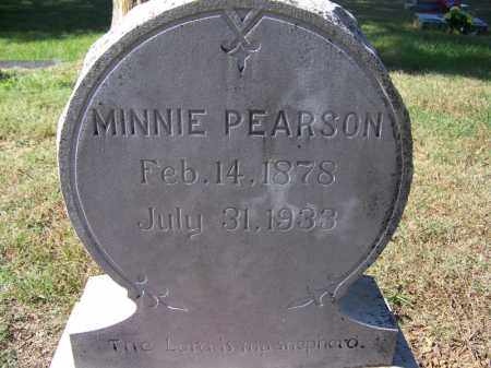 PEARSON, MINNIE - Independence County, Arkansas | MINNIE PEARSON - Arkansas Gravestone Photos