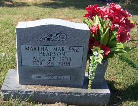 PEARSON, MARTHA MARLENE - Independence County, Arkansas | MARTHA MARLENE PEARSON - Arkansas Gravestone Photos
