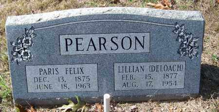 DELOACH PEARSON, LILLIAN - Independence County, Arkansas | LILLIAN DELOACH PEARSON - Arkansas Gravestone Photos