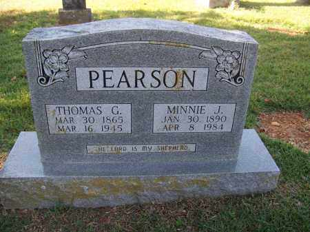 PEARSON, MINNIE J - Independence County, Arkansas | MINNIE J PEARSON - Arkansas Gravestone Photos
