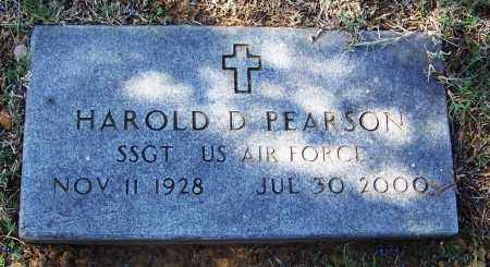 PEARSON (VETERAN), HAROLD D - Independence County, Arkansas | HAROLD D PEARSON (VETERAN) - Arkansas Gravestone Photos