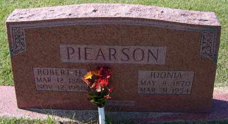 PIEARSON, IDONIA - Independence County, Arkansas | IDONIA PIEARSON - Arkansas Gravestone Photos