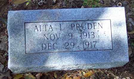 PRUDEN, ALTA L. - Independence County, Arkansas | ALTA L. PRUDEN - Arkansas Gravestone Photos