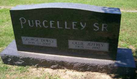 PURCELLEY, OLLIE JEFFREY - Independence County, Arkansas | OLLIE JEFFREY PURCELLEY - Arkansas Gravestone Photos