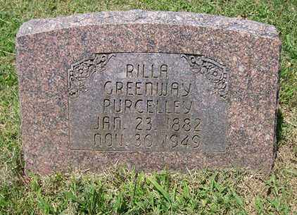 PURCELLEY, RILLA - Independence County, Arkansas | RILLA PURCELLEY - Arkansas Gravestone Photos