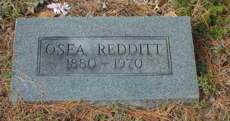 BURRIS REDDITT, OSEA M. - Independence County, Arkansas | OSEA M. BURRIS REDDITT - Arkansas Gravestone Photos