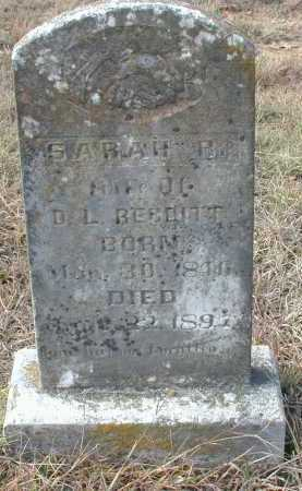 REDDITT, SARAH (SUSAN) REBECCA - Independence County, Arkansas | SARAH (SUSAN) REBECCA REDDITT - Arkansas Gravestone Photos