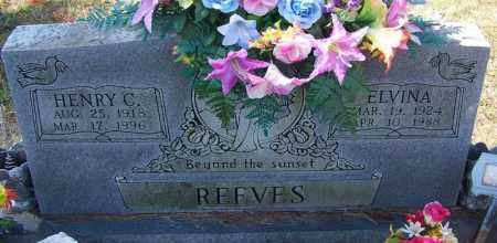 REEVES, ELVINA - Independence County, Arkansas | ELVINA REEVES - Arkansas Gravestone Photos