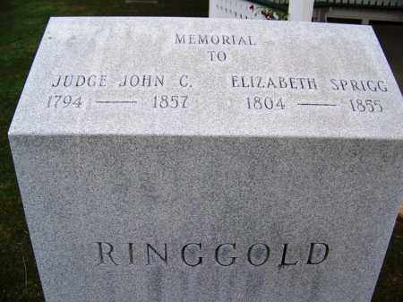 RINGGOLD, ELIZABETH - Independence County, Arkansas | ELIZABETH RINGGOLD - Arkansas Gravestone Photos