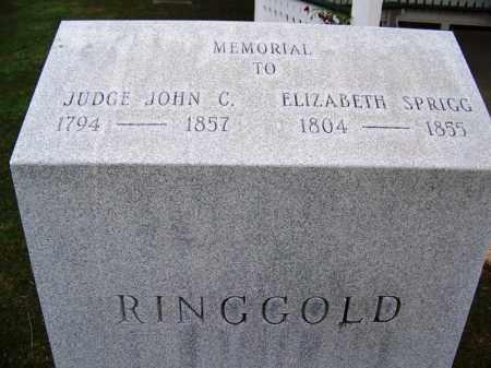 RINGGOLD, JUDGE, JOHN C - Independence County, Arkansas | JOHN C RINGGOLD, JUDGE - Arkansas Gravestone Photos