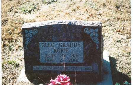 RORIE, CLEO - Independence County, Arkansas | CLEO RORIE - Arkansas Gravestone Photos